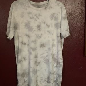 Tye-dye long t-shirt
